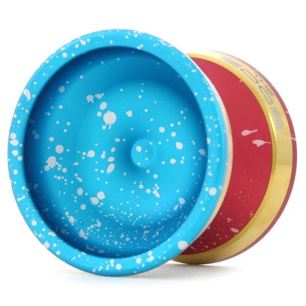 Splash (Light Blue / Silver) / Splash (Red / Silver) / Gold Rim