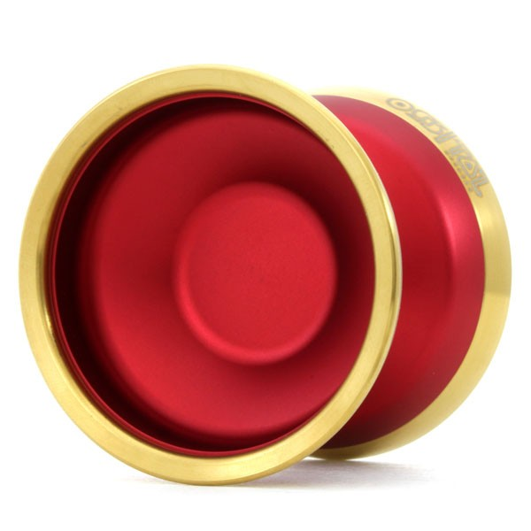 Red / Gold Rim